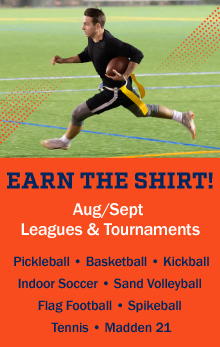 August & September Sports Leagues & Tournaments