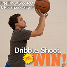 Intramural Free Throw & Hot Shots Basketball Contest Dec 5