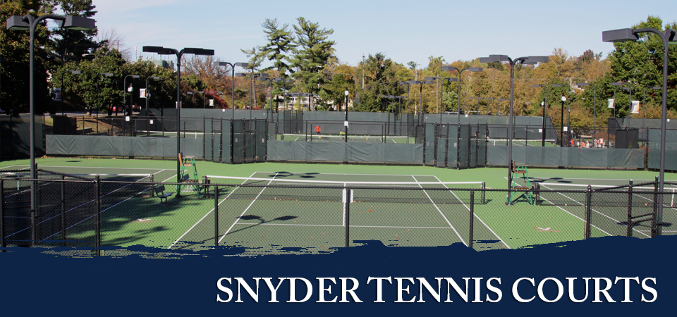 Snyder Tennis Courts in charlottesville