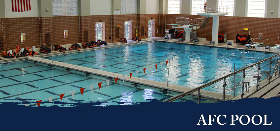 indoor competition pool at uva in charlottesville virginia