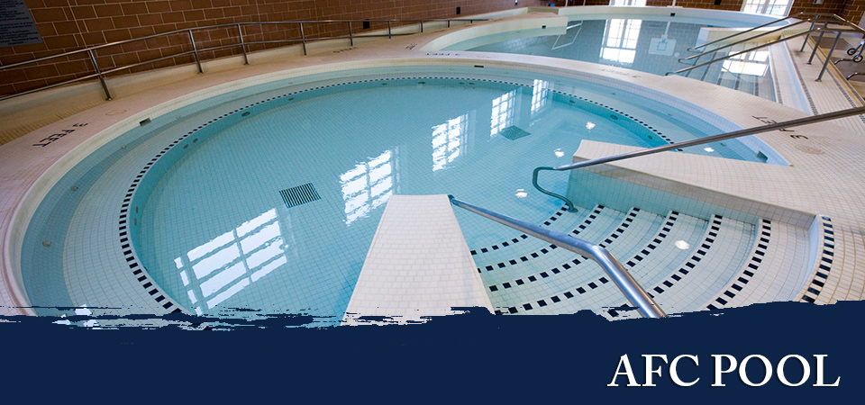 uva's indoor pool at afc