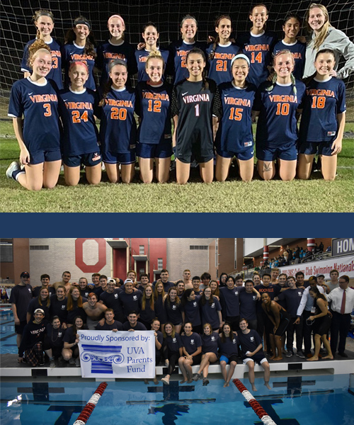 2020 Jefferson Trust Award Winners, women's club soccer and club swim