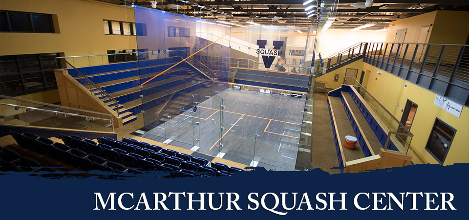 McArthur Squash Center at UVA