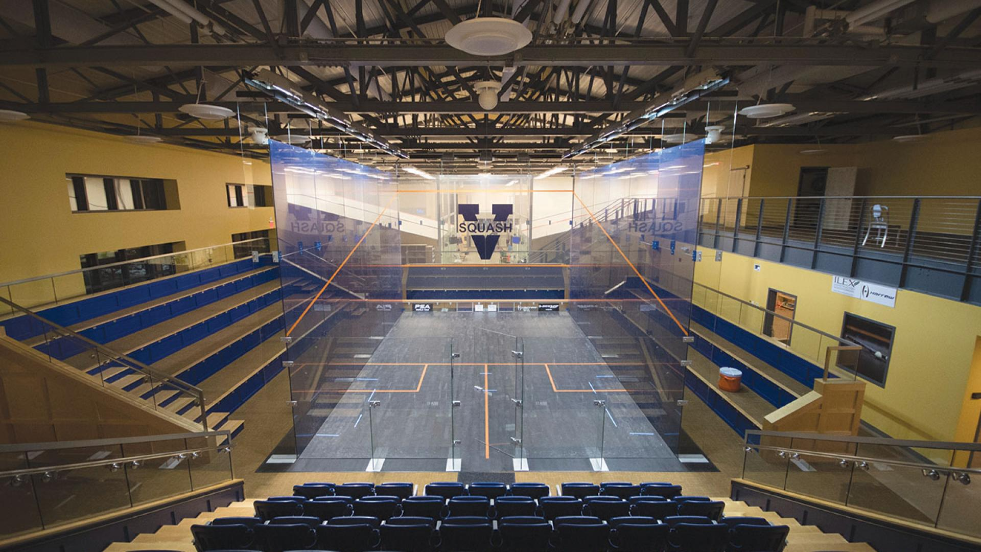 McArthur Squash Center available to IM-Rec Students and members