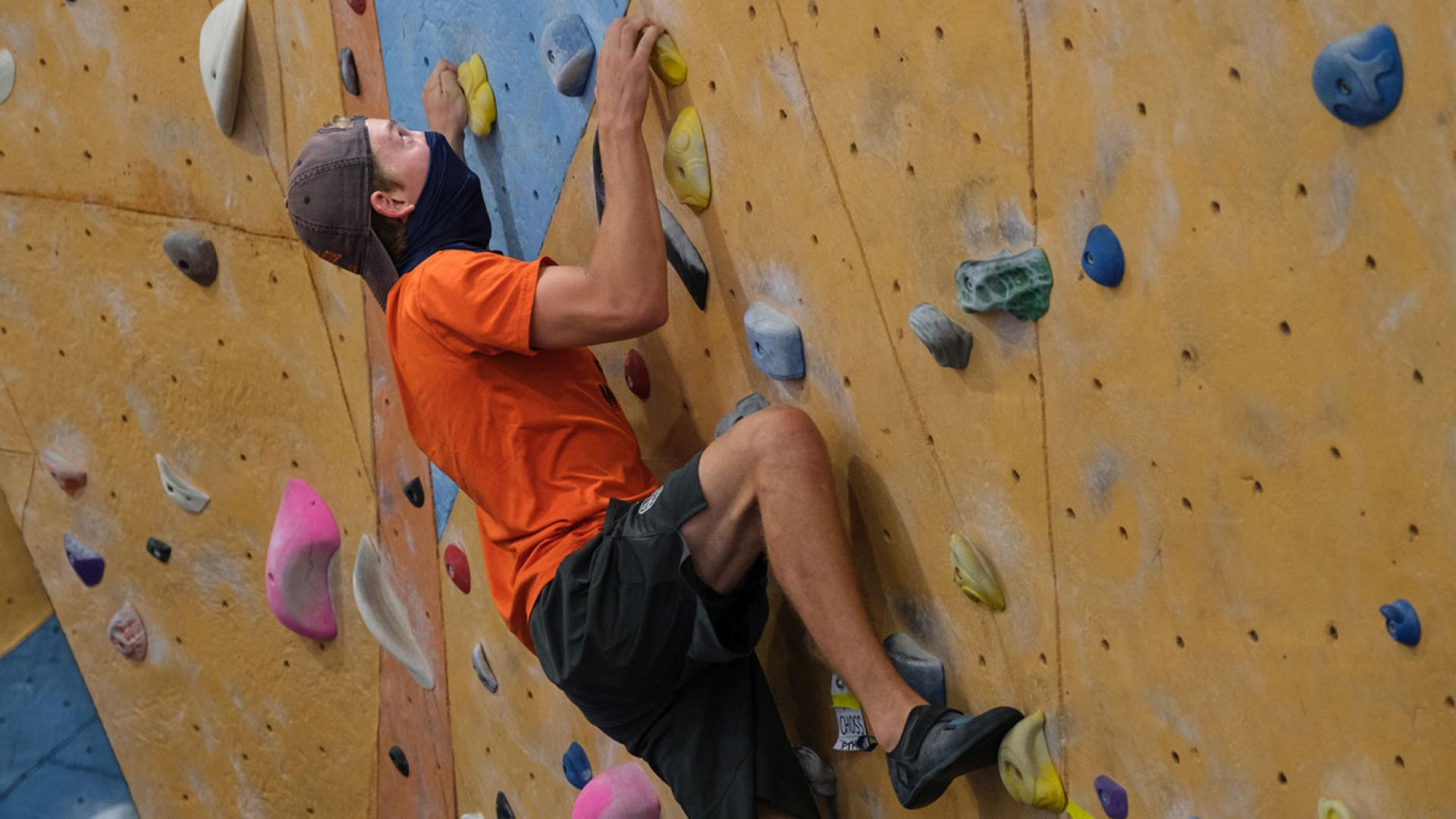 climbing and bouldering at uva