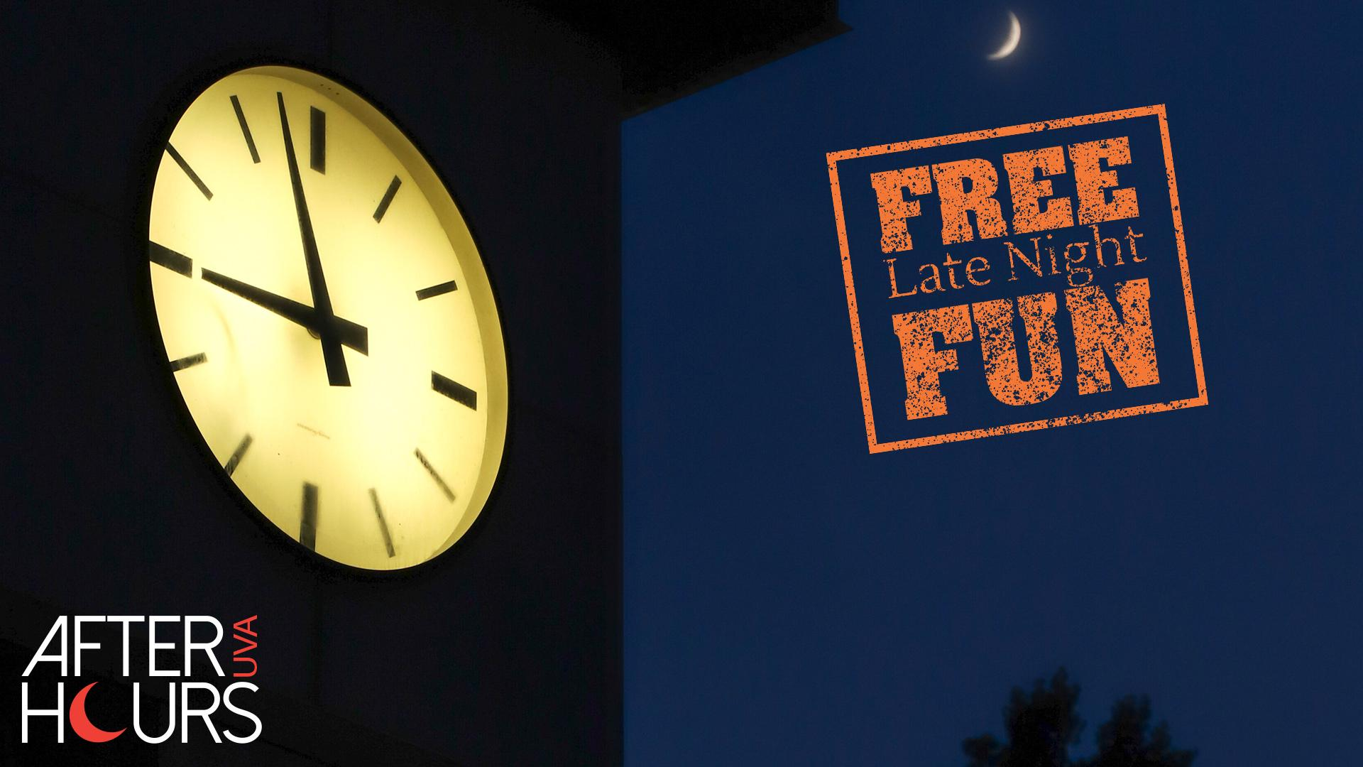 UVA After Hours FREE Late Night Fun for Students