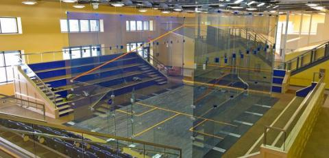 McArthur Squash Center Interior
