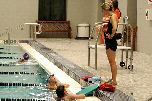 Swim instruction in charlottesville