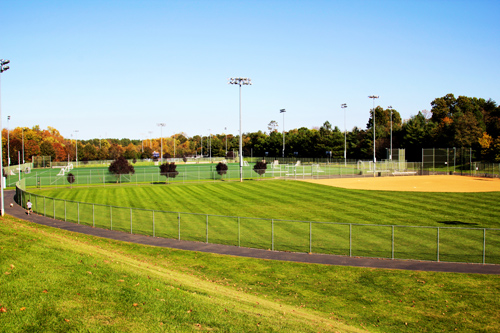 outdoor recreation fields for uva at the park
