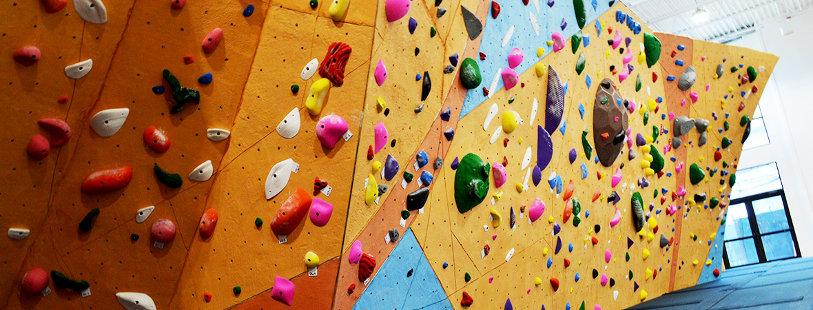 indoor climbing gym at uva in charlottesville virginia