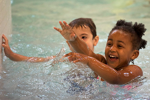 kids swim lessons in Charlottesville